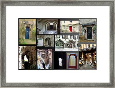 A Tour Of Doors Framed Print by Jacquie King