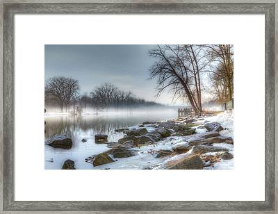 A Tranquil Evening Framed Print by Everet Regal