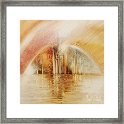 A Travel Do Heaven Framed Print by Fatima Stamato