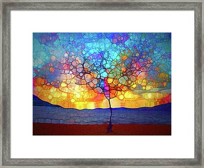 A Tree For A New Season Framed Print
