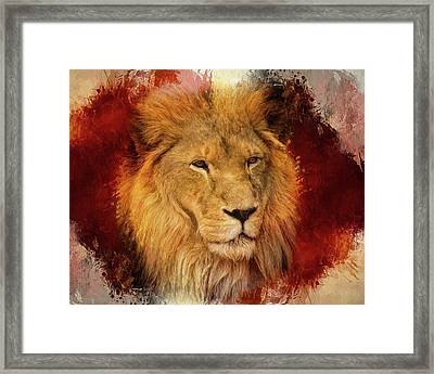 A Tribute To Asante Framed Print
