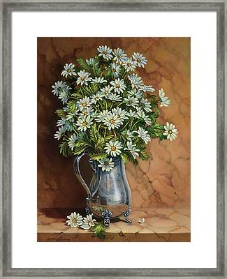 A Tribute To Lupetti Framed Print by Carolyn Sterling