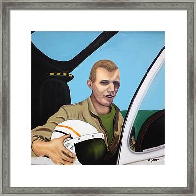 A Tribute To Maj. Lono Framed Print