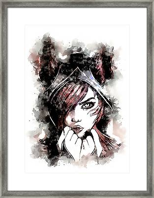 A Tribute To Xayah Framed Print