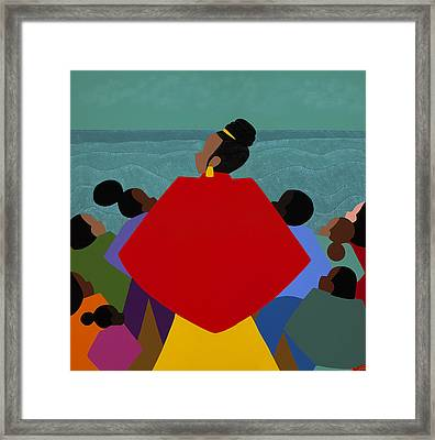 A Tribute To Xernona Clayton Framed Print