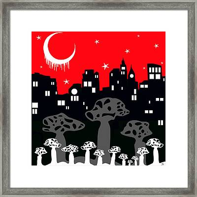 A Trip To The City Framed Print
