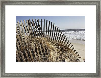 A Twisted Arch Of Snow Framed Print