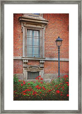 A Typical Italian Street Framed Print by Carol Japp