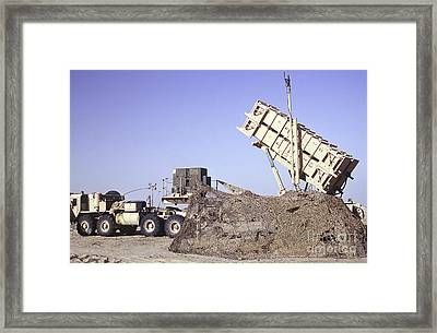 A U.s. Army Patriot Surface-to-air M901 Framed Print