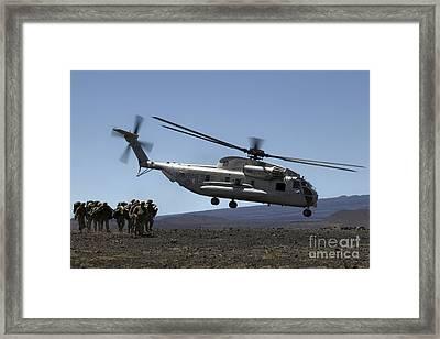 A U.s. Marine Corps Ch-53d Seahawk Framed Print