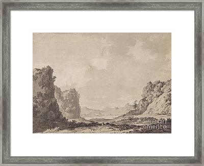 A Valley Framed Print