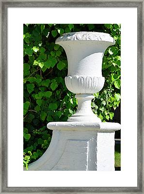 Framed Print featuring the photograph A Vase Of Light And Shadows by Bruce Gourley