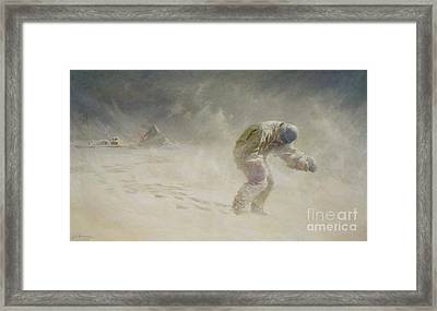 A Very Gallant Gentleman Framed Print by John Charles Dollman