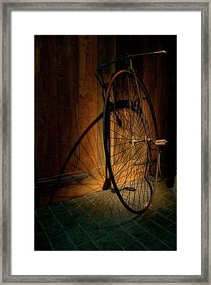 A Very Old Bicycle Framed Print