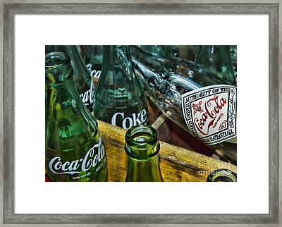 A Very Old Cola  Framed Print by Paul Ward