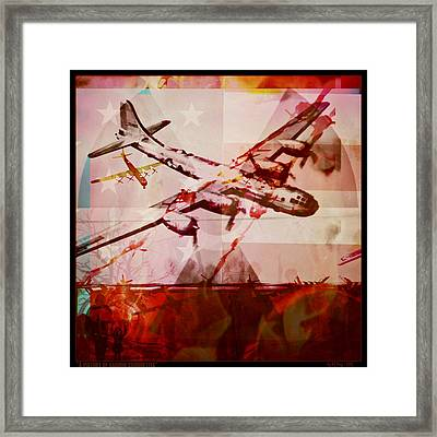 A Victory Of Carbon Silhouettes Framed Print by Randolph Ping