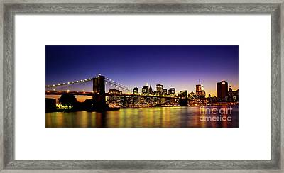 A View From Brooklyn Framed Print