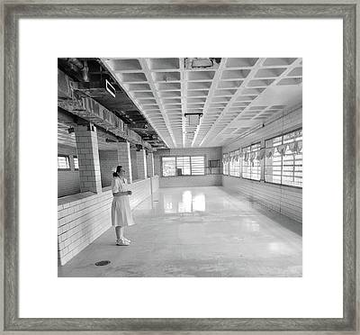 A View From Insanity Framed Print