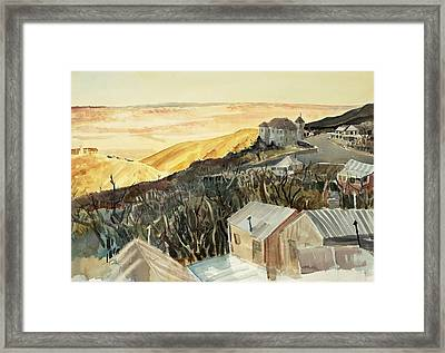 A View From Jerome Framed Print