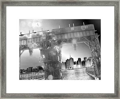 A View From Long Island City II Framed Print