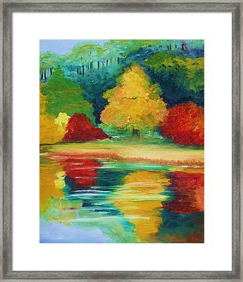 A View I Remember  Framed Print by Julie Lueders