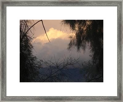 A View Framed Print by John Wilson