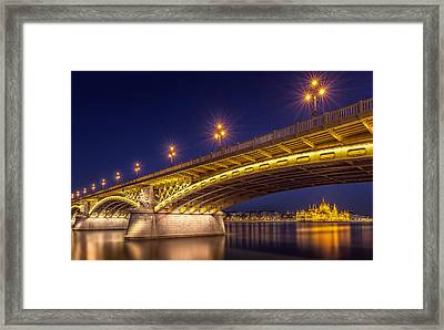A View Of Budapest Framed Print by Thomas D M?rkeberg