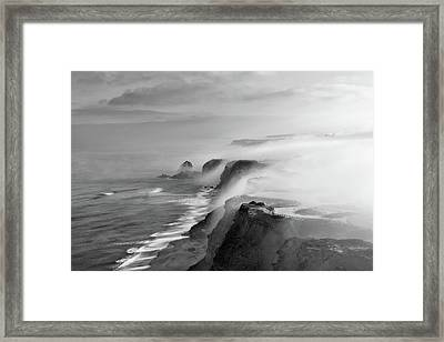A View Of Gods Framed Print by Jorge Maia