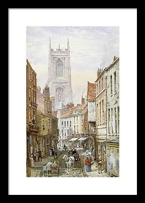 Derby Cathedral Framed Prints