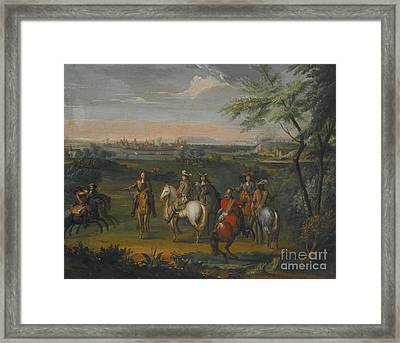 A View Of Luxembourg Framed Print