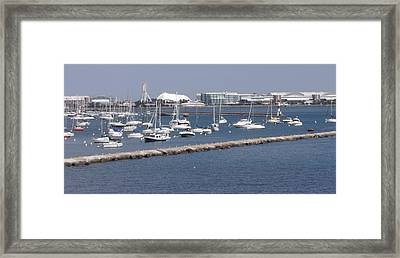 A View Of Navy Pier Framed Print