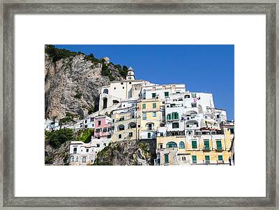 A View Of The Adratic Sea Framed Print