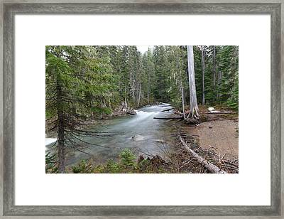A View Of The American River Framed Print by Jeff Swan