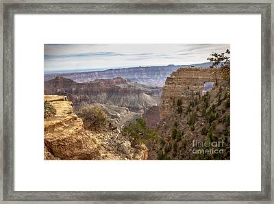 A View Of The Angels'  Window Framed Print by Robert Bales