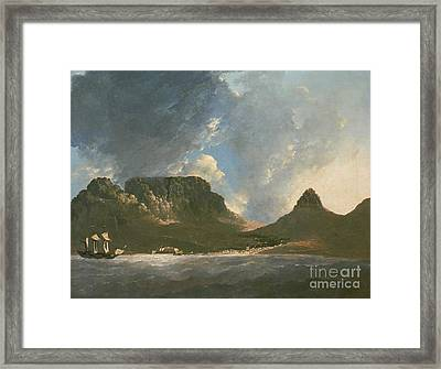 A View Of The Cape Of Good Hope Framed Print by Celestial Images
