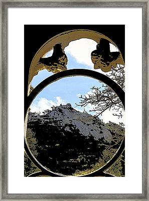 A View Of The Moorish Castle Framed Print