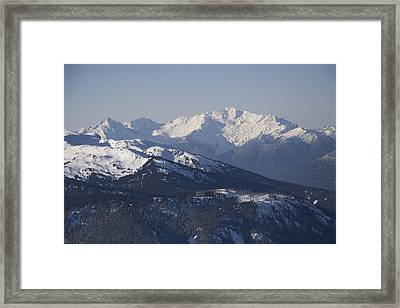 A View Of The Mountains Framed Print by Taylor S. Kennedy