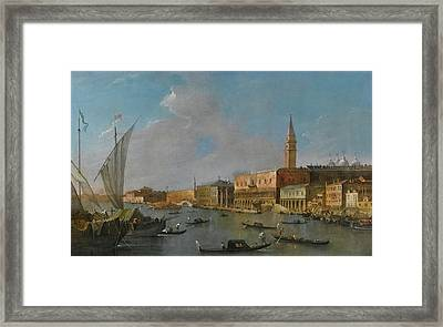 A View Of The Palazzo Framed Print