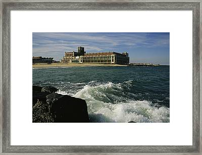 A View Of The Seaside Convention Center Framed Print by Ira Block