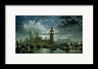 Westminster Abbey Framed Prints