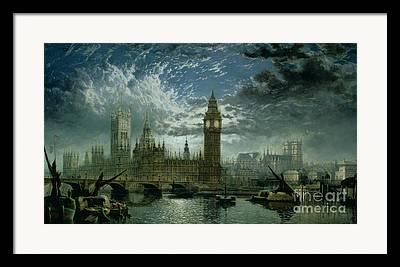 London Pier Framed Prints