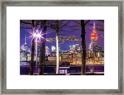 A View To Behold Framed Print