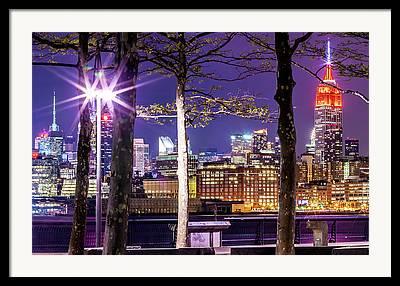 New York New York Com Framed Prints