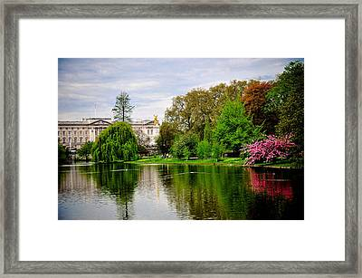 A View To The Palace Framed Print by Pat Shawyer