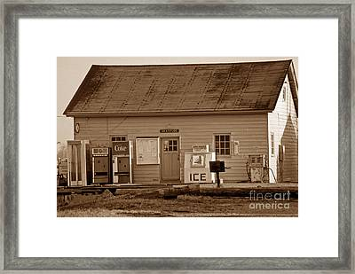 A Village Called Gratitude Framed Print by Skip Willits
