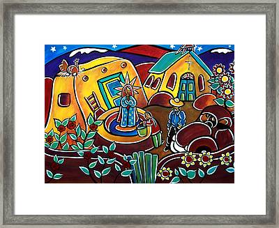 A Village For Our Lady Framed Print
