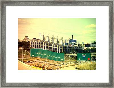 A Vision Of Minneapolis Framed Print by Susan Stone