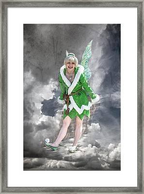 A Visit From The Tinker Fairy Framed Print by John Haldane