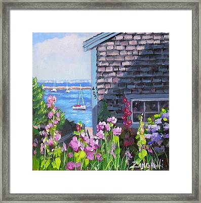 A Visit To P Town Jr Framed Print by Laura Lee Zanghetti