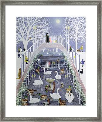 A Walk In The Park Framed Print by Pat Scott